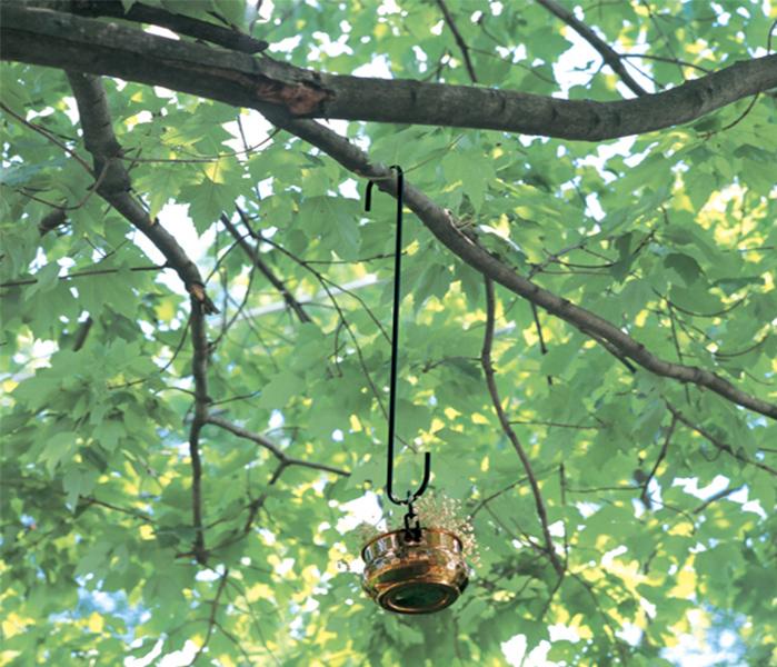Forged Branch Hook black Deck Hanger Hook