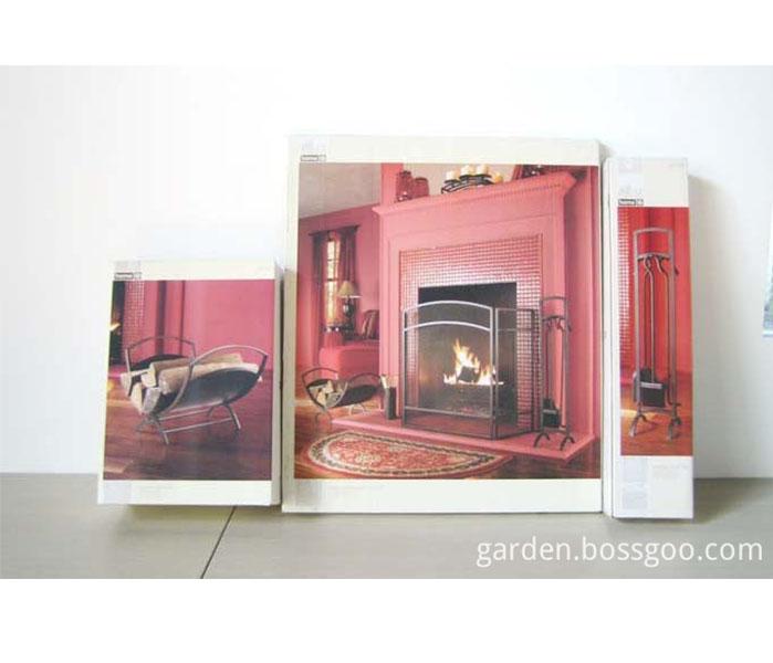 Basic Fireplace folding Log Bin Log Rack