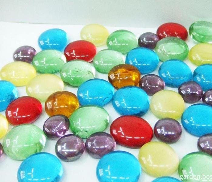 Assorted Decorative Glass Gems