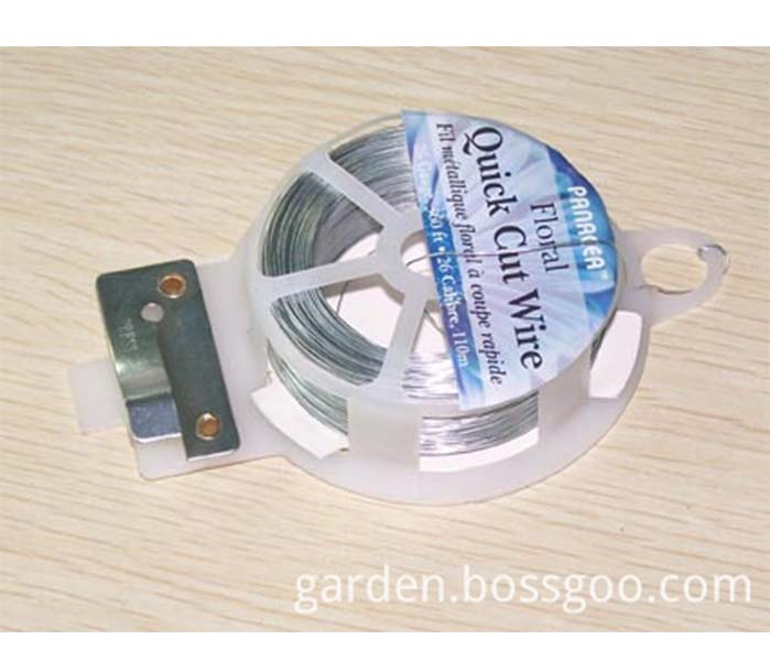 PVC Floral Wire with Cutter Quick cut