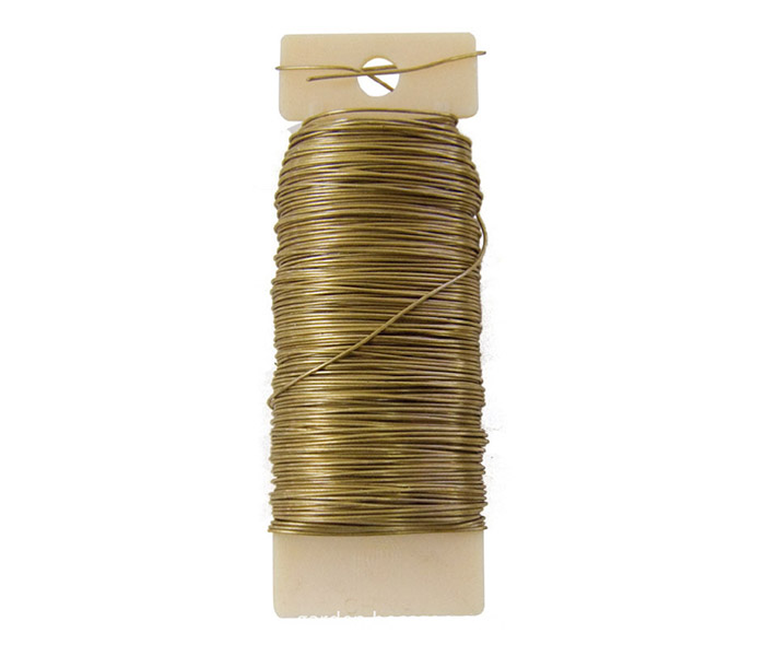 Florist paddle wire gold